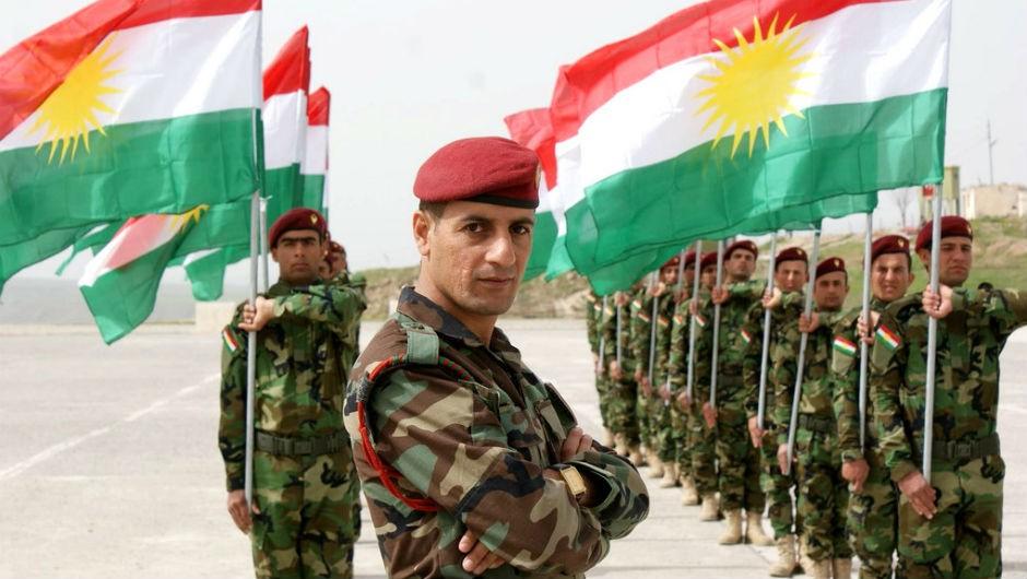 Peshmergas kurdos.