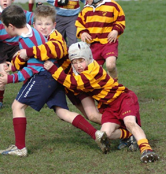 ¡Cómo me gusta el rugby!