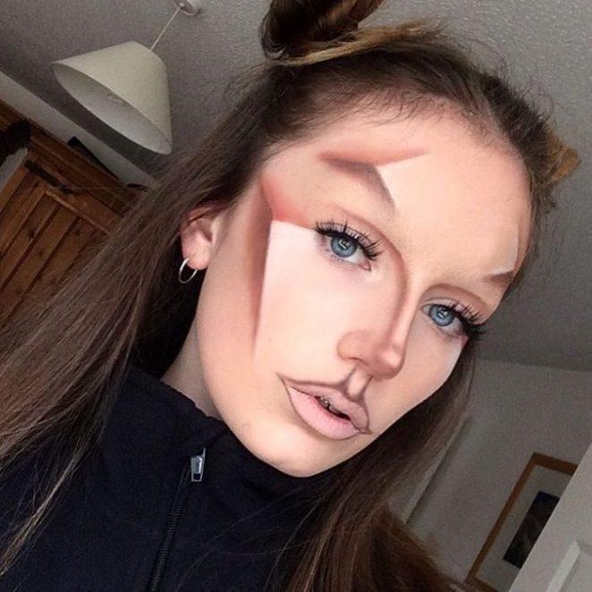 cara maquillaje
