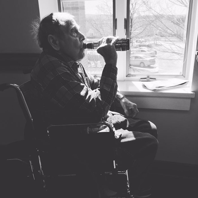 A Week Before My Grandfather Passed Away, I Snuck His Favorite Beer Into The Nursing Home For Him