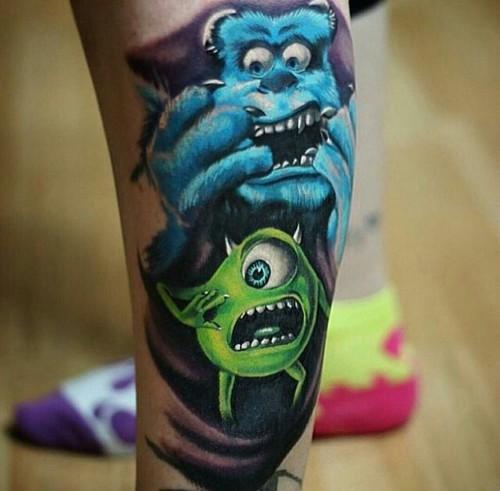 Tatuaje de sullivan y mike wasausky