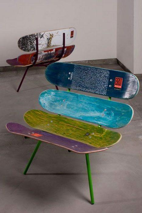 asiento de patinetas