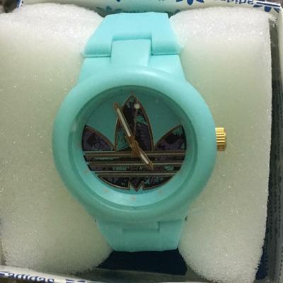 – Celeste Mercado Brazalete Reloj El Adidas Silicon Fondo De 9YH2bWEIDe