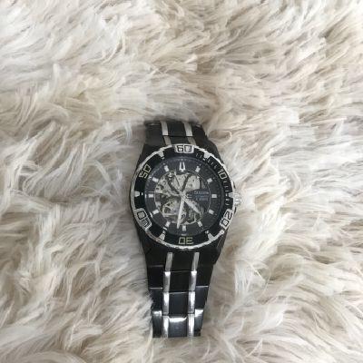 Reloj Original Bulova Negro Hombre