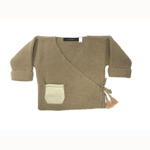 Handknit Baby Sweater