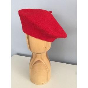 Che beret Alpaca Red