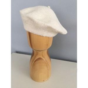 Che beret Alpaca Ivory