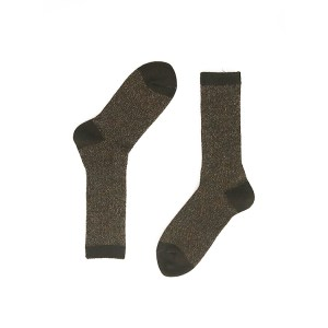 Brown Alpaca Wool Socks