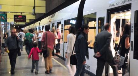 Metrovalencia desplazó el pasado mes de octubre a 5'5 millones de usuarios