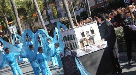 La Falla Sant Valerià de Torrent ganadora de la Cabalgata del Ninot Infantil