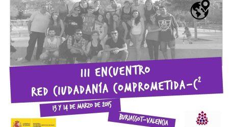 Burjassot acoge este fin de semana el Encuentro de la Red Ciudadanía Comprometida