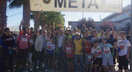 Los alumnos del Gonzalo Anaya de Xirivella corren por la salud