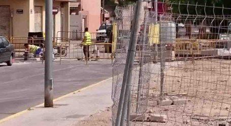 Concluyen las obras de renovación de la calzada en el barrio de Los Alfalares en Alfafar