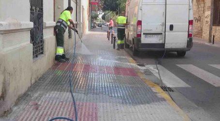 Arranca en Alfafar el plan de limpieza de la vía pública