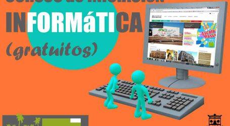 Burjassot pone a disposición de sus vecinos cursos gratuitos de Iniciación a la Informática