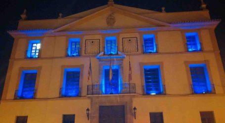 El Ayuntamiento de Paterna se tiñe de azul por la diabetes