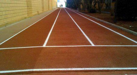 Quart de Poblet acaba les obres a la recta d'atletisme del Poliesportiu i del camp de futbol