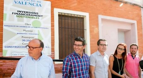 Bonrepós i Mirambell mejora la accesibilidad de su Centro Cívico con la ayuda de la Diputación