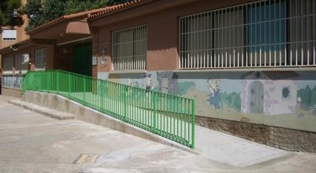Torrent hace obras de mejora en sus colegios