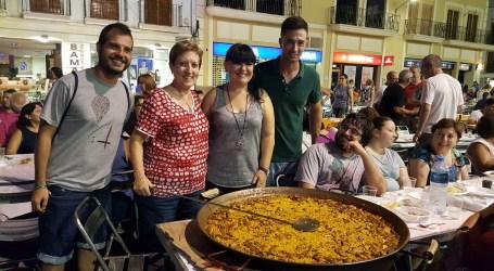 Éxito de participación en las paellas de El Puig