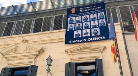 Los clavarios y clavariesas de Massamagrell protagonistas de una campaña contra de las agresiones sexuales