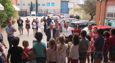 Torrent inaugura el aula de dos años del colegio San Juan Bautista