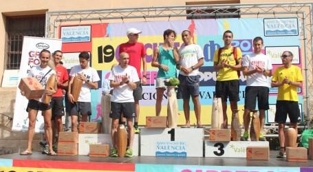 Marta Esteban y Ouis Zitane, ganadores del Gran Fons de Paterna