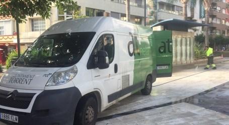 Torrent mejora la limpieza viaria