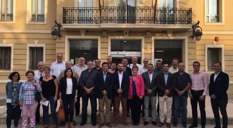 Reunión de alcaldes contra la investidura de Rajoy