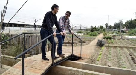 Burjassot mejora los accesos a los huertos sociales