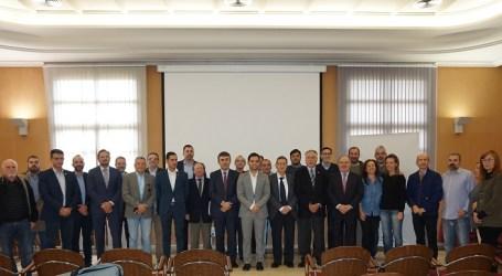 Acte institucional a Paterna en suport del Corredor Mediterrani