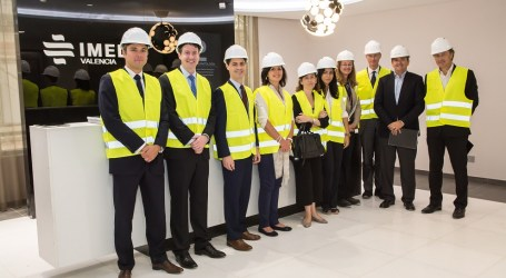Las obras del nuevo Hospital IMED Valencia avanzan a buen ritmo