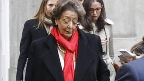 El PP de Valencia y el PSPV expresan sus condolencias por la muerte de la exalcaldesa Rita Barberá
