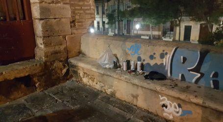 La Policía Local de Burjassot denuncia a un joven por realizar un grafiti en Los Silos