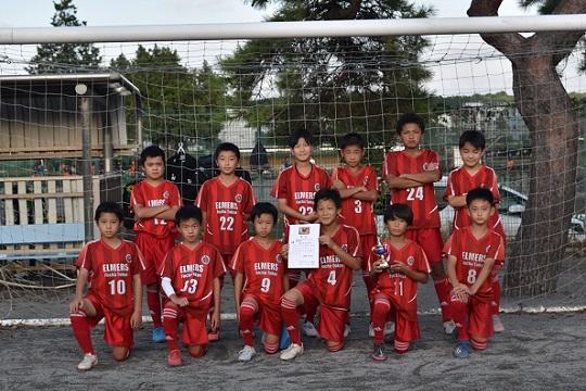 45期(5年生) 府中カップ少年サッカー大会2020に参加し3位になりました。