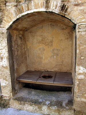 Medieval Garderobe - El Castell de Xativa