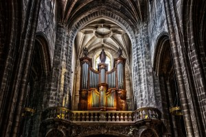 organ, instrument, cathedral