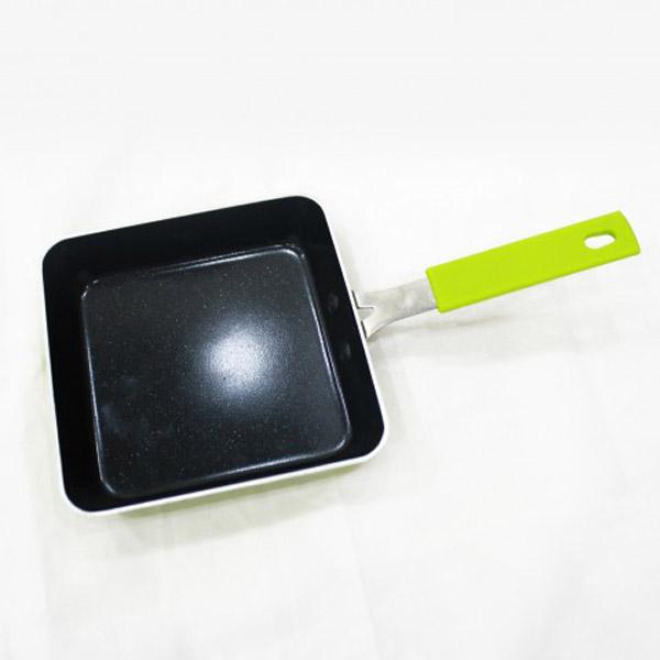Chảo vuông phủ sứ chống dính Smartcook 14cm