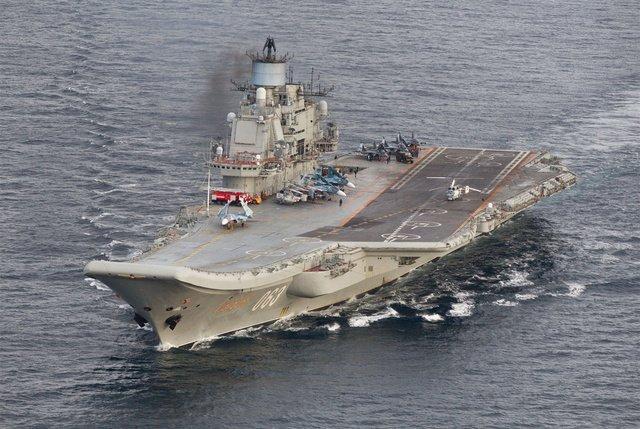 LA OTAN TEME QUE LA FLOTA RUSA EN VIAJE A SIRIA SE UNA A LOS ATAQUES CONTRA ALEPO
