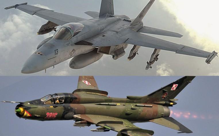 REVELAN DETALLES DESCONOCIDOS DEL COMBATE AÉREO ENTRE EL F-18 Y EL SU-22 EN SIRIA