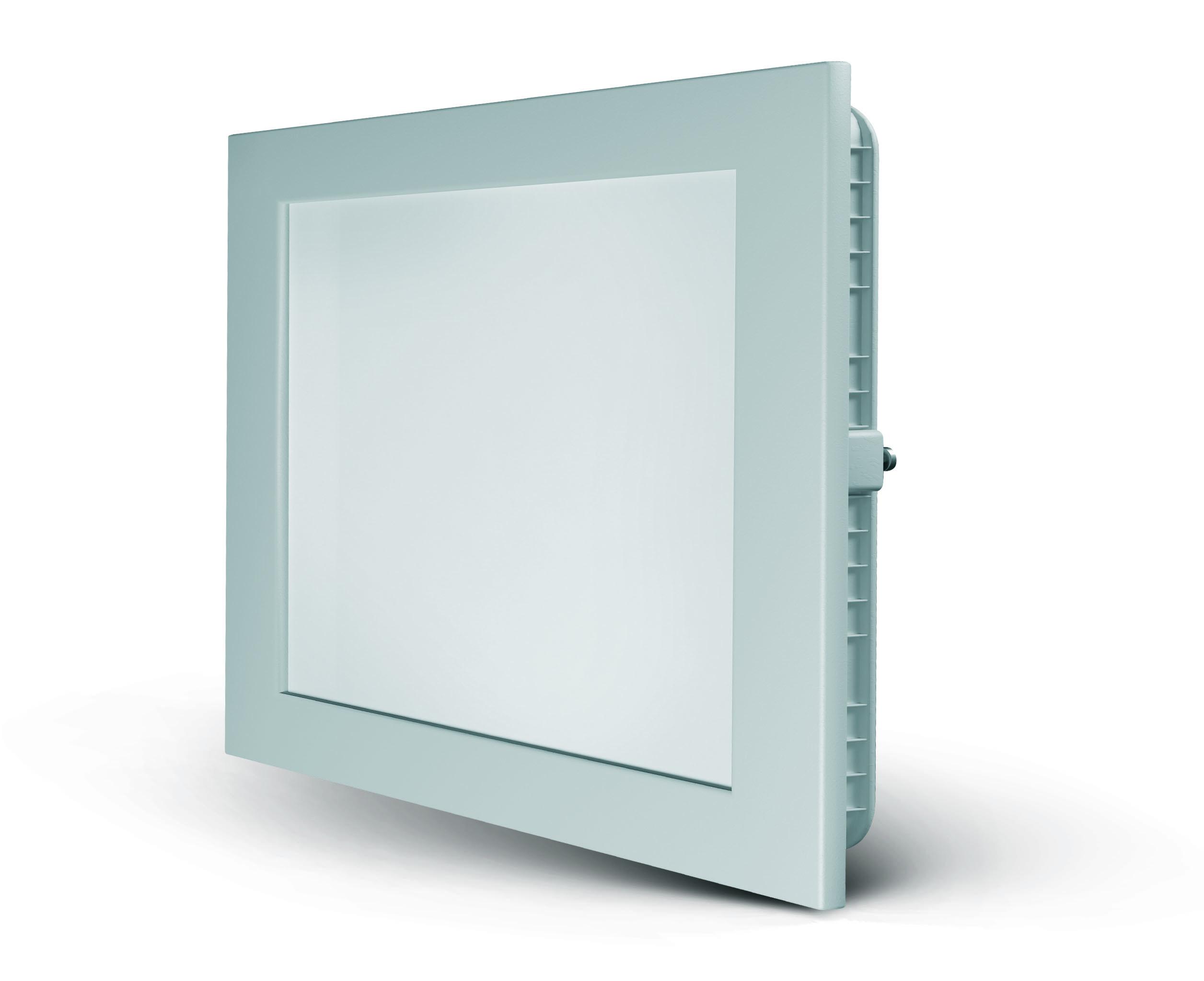 Plafon Led 12w 15×15 Quadrado 6500k Embutir Spotlux Elmig