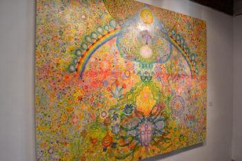 """""""Al crear nos damos la posibilidad de recordarnos quiénes somos. Para ella, el acto creativo es un proceso de maduración del ser, un recordarse"""", sostuvo Lazzarini."""