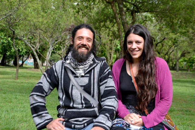 Guillermo Leiva y Yanina Tantín