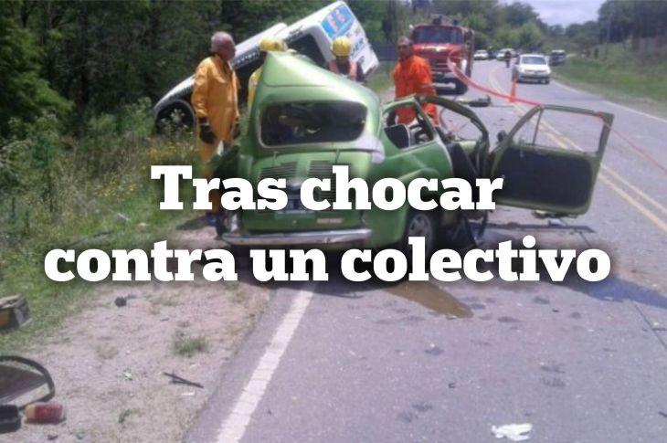 Accidente fatal en la E53 11