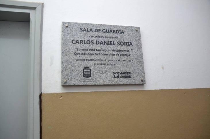 Río Ceballos homenajeó a Carlos Daniel Soria 8