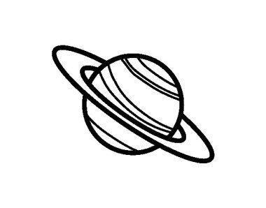 el-planeta-saturno-colorear