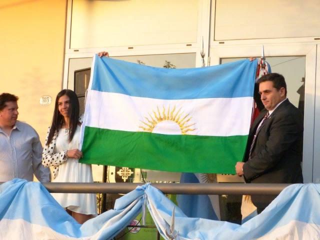 Salsipuedes presentó su Bandera Oficial 2