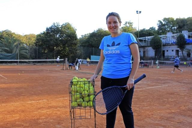 """""""La idea es que aprendan a querer la disciplina, que realmente les guste el tenis"""" 1"""