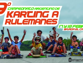 Karting a rulemanes en Río Ceballos