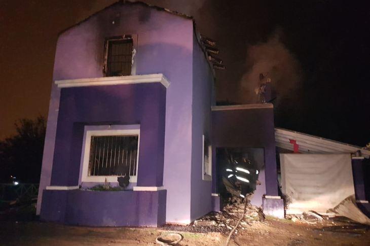 Vecinos de Mendiolaza se unen para ayudar a la familia que lo perdió todo en un incendio 7